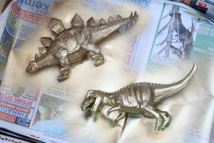 Home Decor, DIY, Gold dinosaur, jewelry holder, design, entertaining