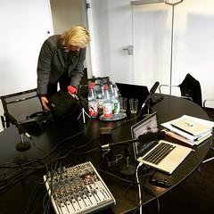 Technik steht für die offene Redaktionssitzung von #boardreport