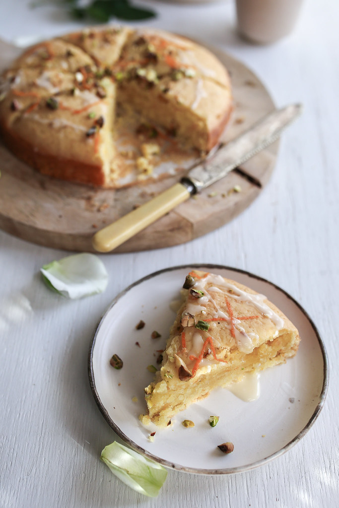 Orange + Rosewater Tea Cake