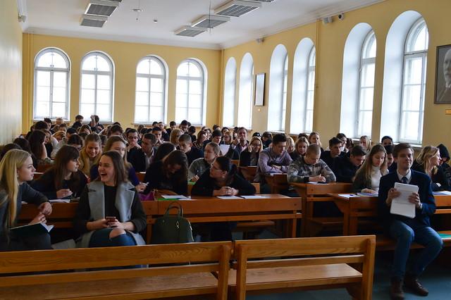 Sesijas atbalsta pēcpusdiena I kursam 2016