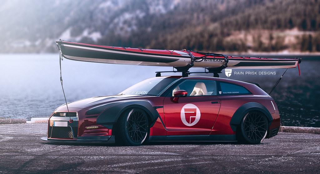Nissan GT-R Shooting Brake
