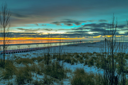 longexposure trees winter sunset sky lighthouse snow cold color reflection tree ice clouds reflections geotagged evening pier frozen nikon unitedstates michigan stjoseph lakemichigan hdr saintjoseph oudoors stjosephlighthouse nikond5300