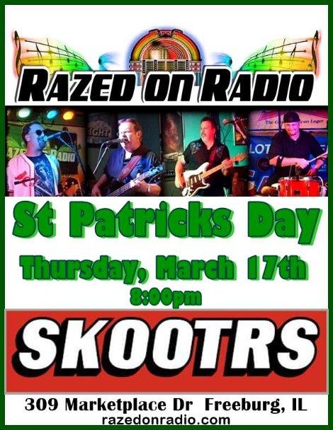 Razed On Radio 3-17-16