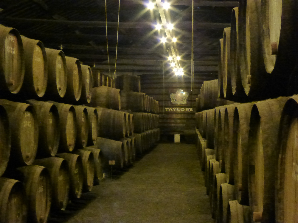 Wine Maturing in Porto Winery