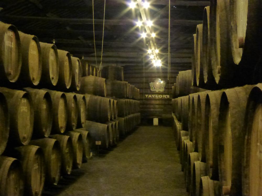 Wine Maturing in Porto Winery