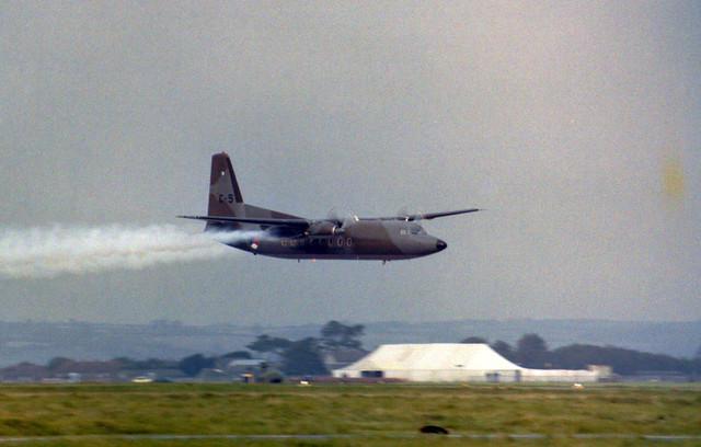 C-5 Fokker F-27M Arrive