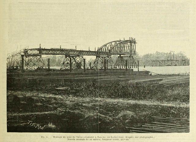 GENIE CIVIL 17-7-1896 - Xây dựng cầu TÂN AN, tỉnh Long An