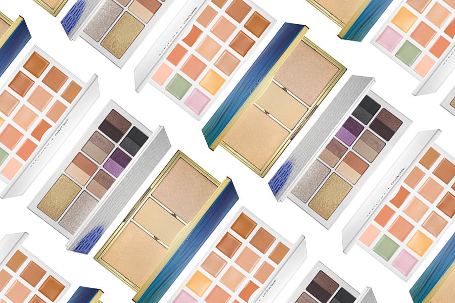 Sephora + Pantone Universe Correct + Conceal Palette, The Estée Edit by Estée Lauder Eyeshadow Palette, Tarte Rainforest of the Sea Skin Twinkle Lighting Palette