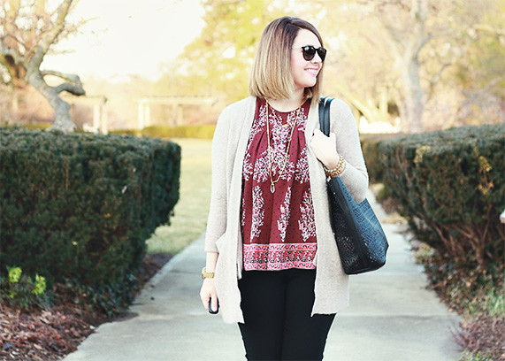 Madewell Floral Top 4