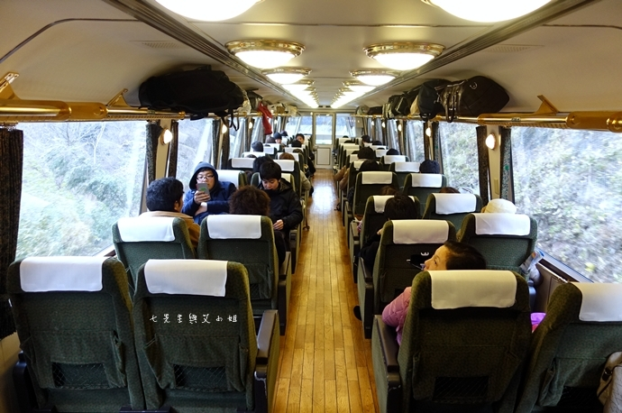 37 17 【日本九州】JR特急 由布院之森(ゆふいんの森)-優雅復古風觀光列車,九州旅遊必搭~(內含JR九州鐵路周遊券/JR九州Pass分享)