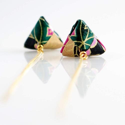 Mayumi Origami Jewelry - Earwire Paper Earrings