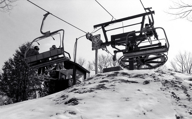Top of the South Hill Chairlift