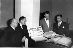 Display of historical records in Office of the Comptroller, 1951