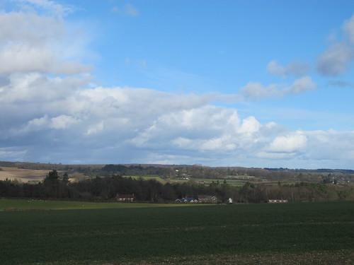 Test Valley, from Dunbridge Hill