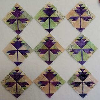 9  Clover Blossom Blocks