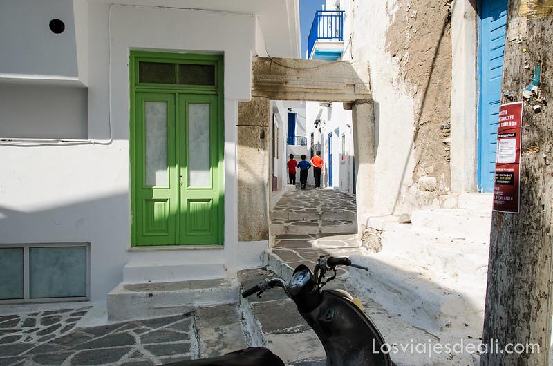 colores del mundo Naxos Grecia