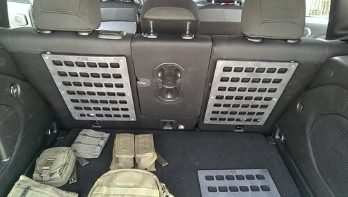 MOLLE Panels For Trunk