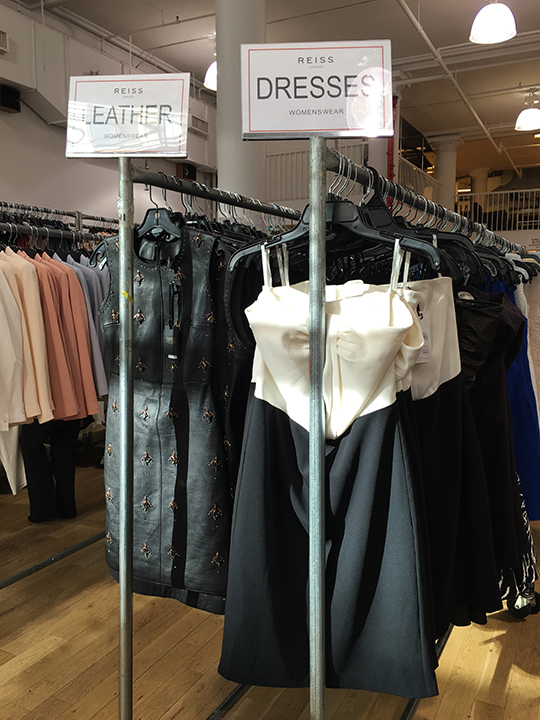 Mizhattan - Sensible living with style: *SAMPLE SALE* Reiss' Pieces