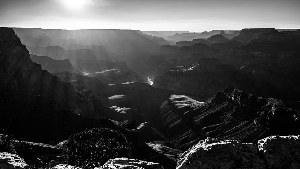 Sunset at the Grand Canyon, Arizona, United States picture