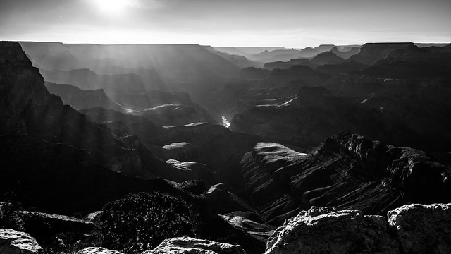 Sunset at the Grand Canyon - Arizona, United States - Landscape photography