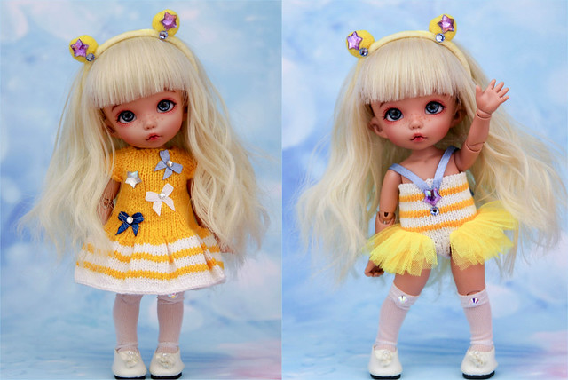 Sailormoon set - Yellow - Pukifee