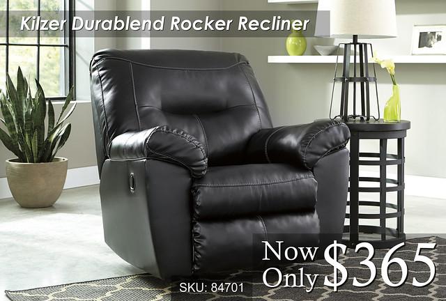 Kilzer Durablend Rocker Recliner