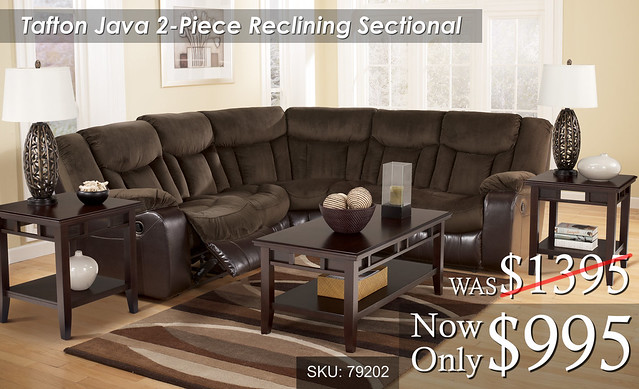 Tafton Java 2 piece Sectional