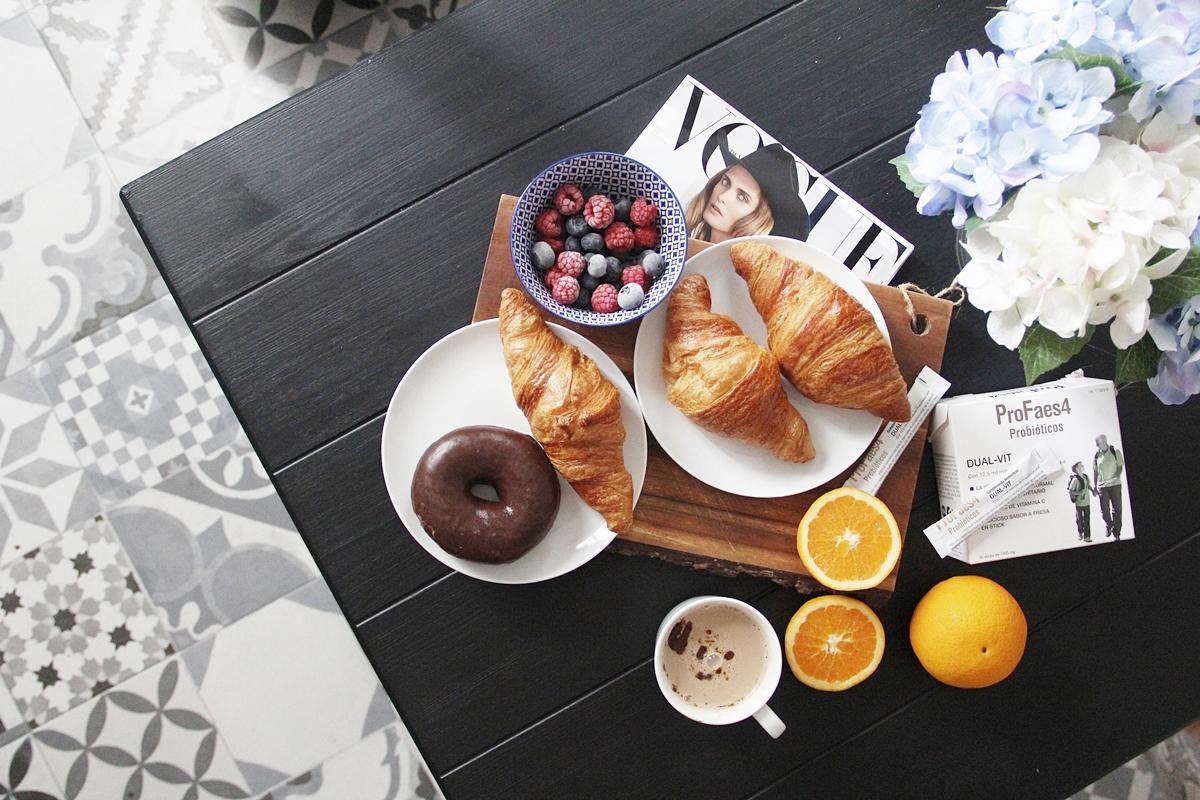 desayuno saludable y completo vitaminico de probioticos profaes4 dual vit 8