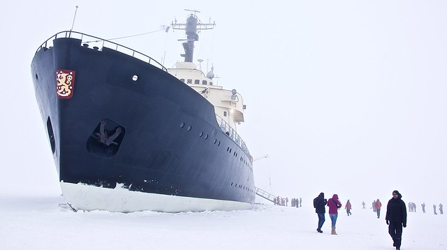 All set to break Arctic Ice