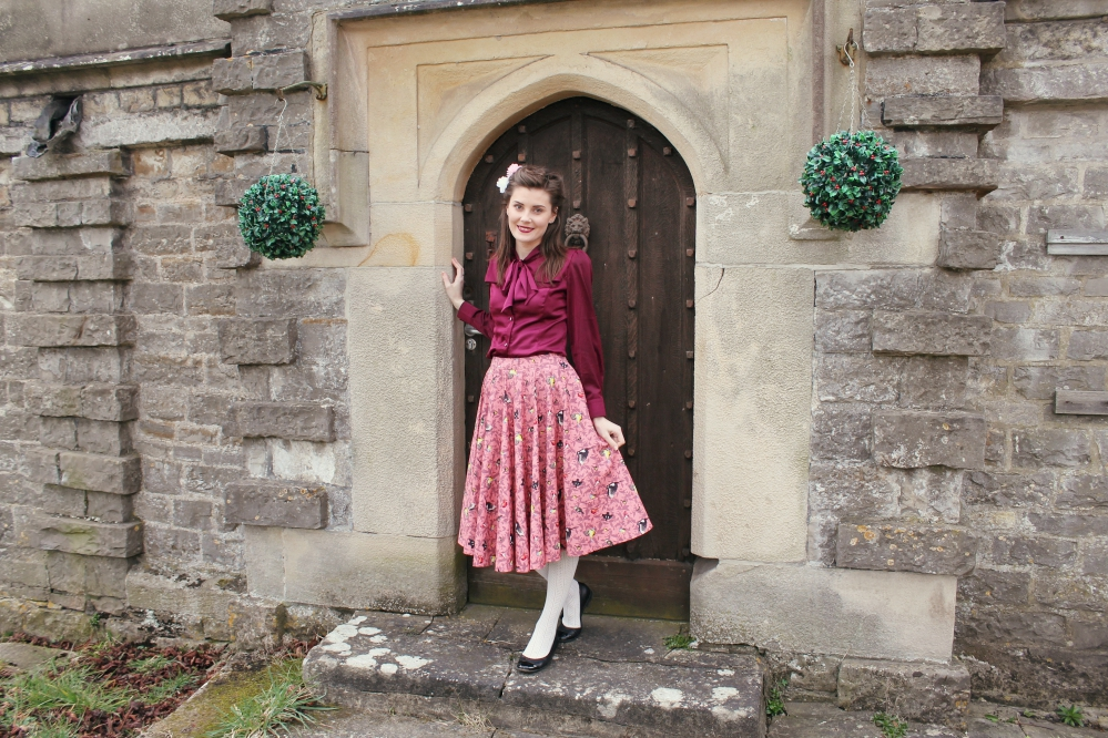lindy bop vintage-style outfit via www.lovebirdsvintage.co.uk