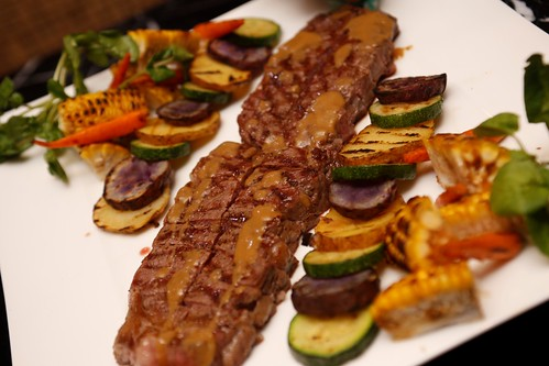 USA Black Angus Beef with Seasonable Vegetables