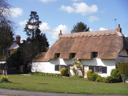 Cuddington, village green