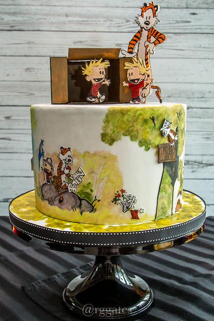 Calvin & Hobbes Cake