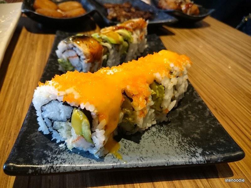 Dragon Roll & Mango Tango Roll