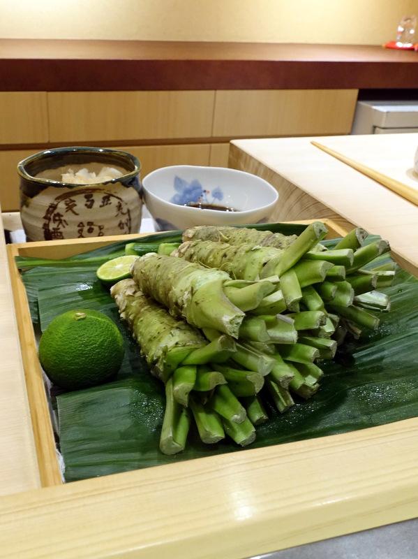 Sushi Iwa Ginza- Fresh Wasabi