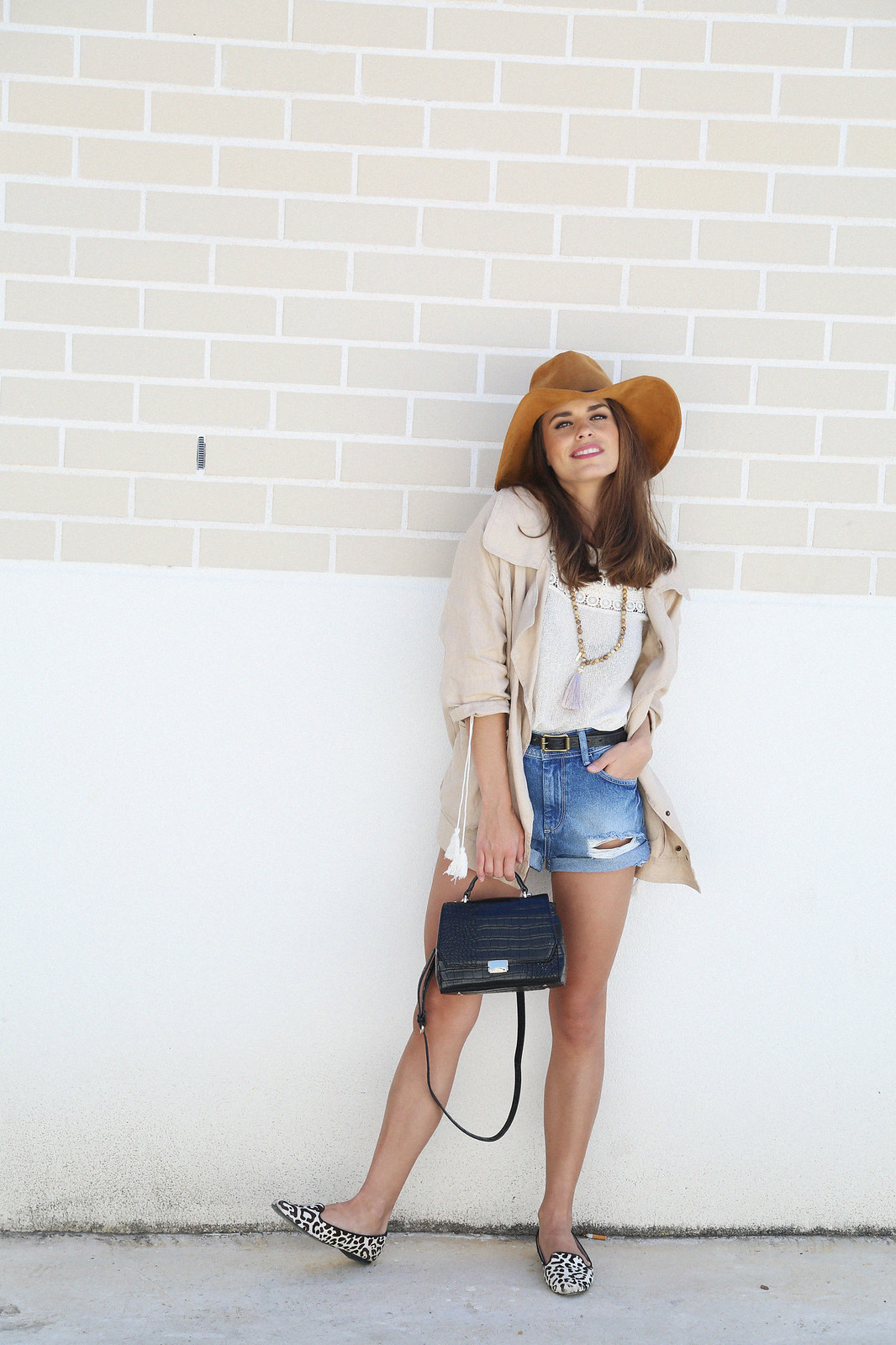 denim shorts linen camel parka jessie chanes 6