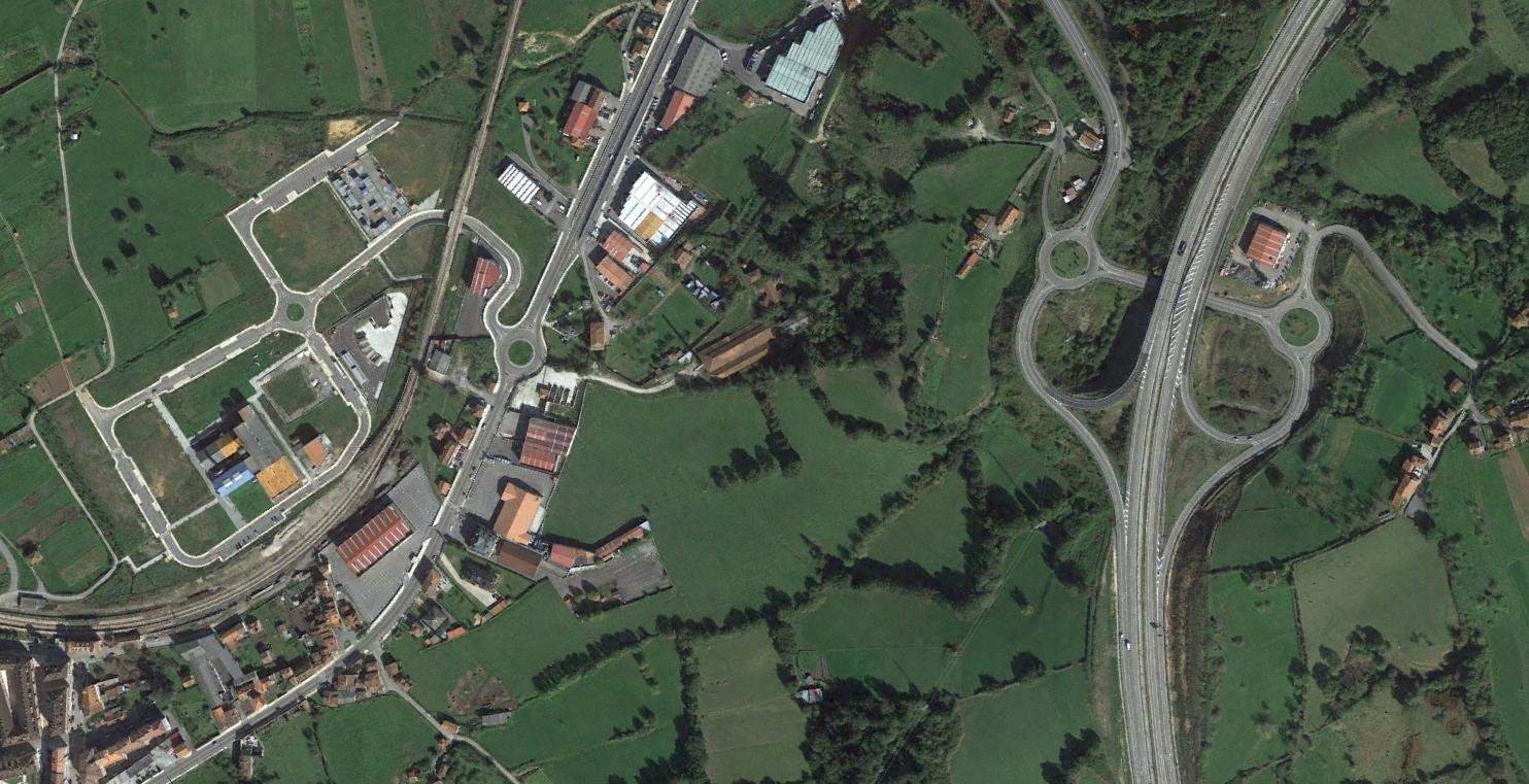 grado, asturias, gonio, después, urbanismo, planeamiento, urbano, desastre, urbanístico, construcción, rotondas, carretera