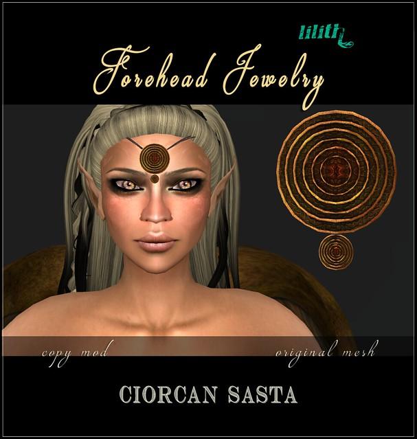 LD Forehead Jewelry Ciorcan Sasta