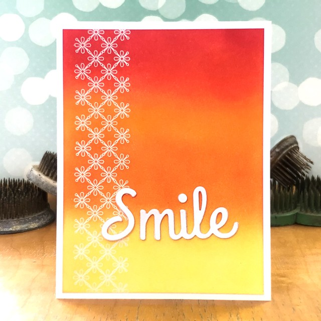Smile by Jennifer Ingle #JustJingle #CASualFridaysStamps