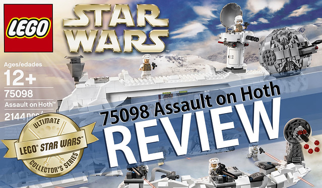 REVIEW Star Wars LEGO 75098 Assault on Hoth (HelloBricks)