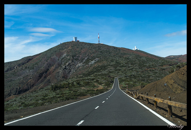 Tenerife Parque Nacional Teide Valle la Orotava - Observatorio Astrofísico del Teide