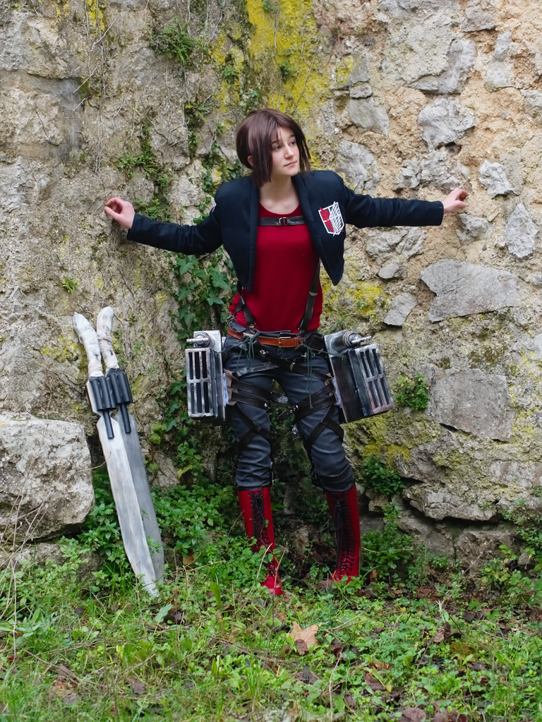 related image - Shooting Shingeki no Kyojin - Parc de Saint Pons - Gemenos - 2015-12-19- P1260374