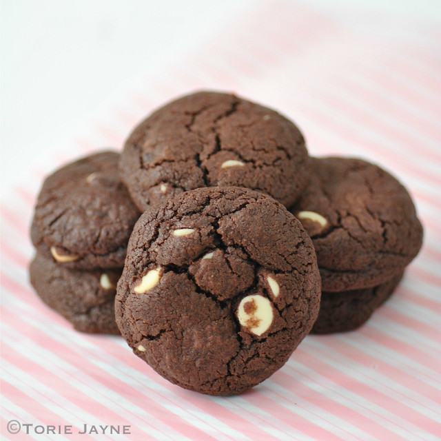 Gluten free triple choc cookies recipe