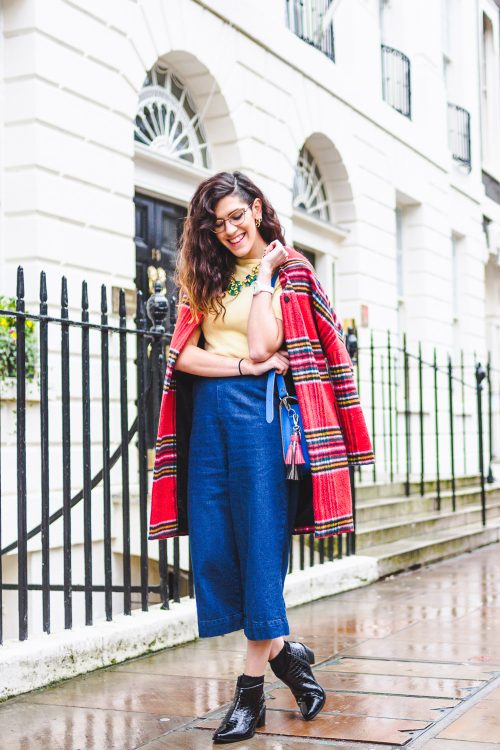 primary colours winter outfit fashion