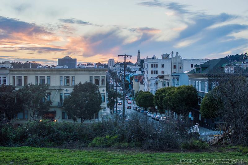 San Francisco California Sunset