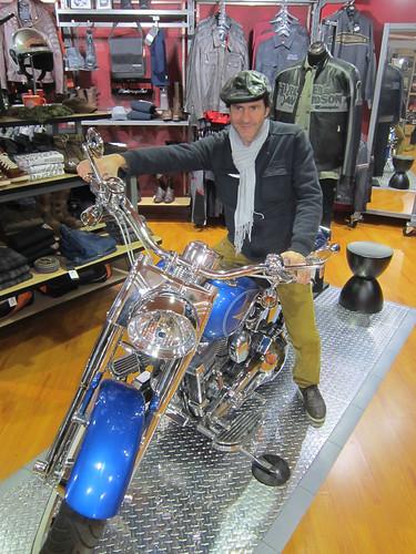 Harley Davidson bikers.