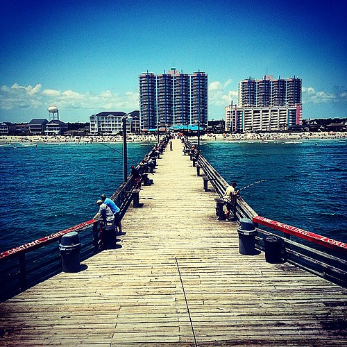 pier amazing pretty view gorgeous scenic fishingpier northmyrtlebeach cherrygrove northmyrtle uploaded:by=flickstagram instagram:photo=90322644427441680238433534 instagram:venuename=cherrygrovefishingpier instagram:venue=2499945