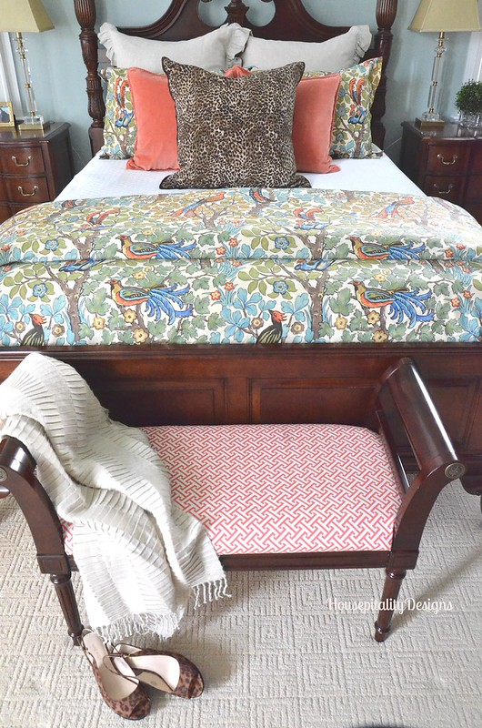 Mayle Pottery Barn Bedding/Master Bedroom - Housepitality Designs
