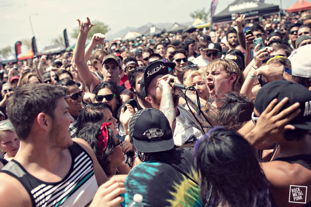 Vans Warped Tour 2015 - Quail Run Park, Mesa, AZ // Shot by Brandon Lowe