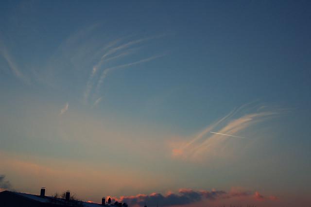 le ciel janvier